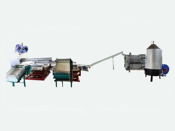 6CRD-A/B 热风网带定型连续自动化生产线
