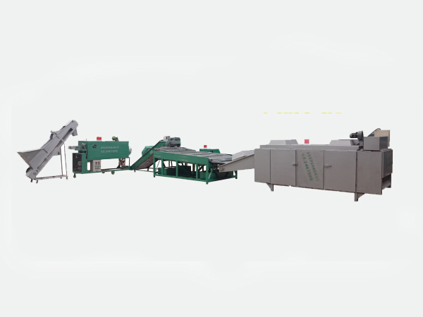Infrared one-stop production line